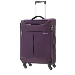 American Tourister Sky 82cm Spinner Suitcase | Purple