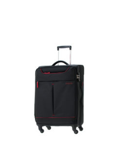 American Tourister Sky 55cm Spinner Suitcase | Black