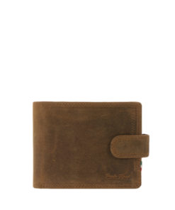 H5 Paolo Rossi Tab Leather Wallet