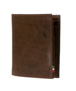 908 Paolo Rossi Nappa Leather Wallet-Tan