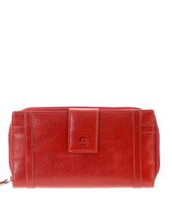Brando Red Leather Purse