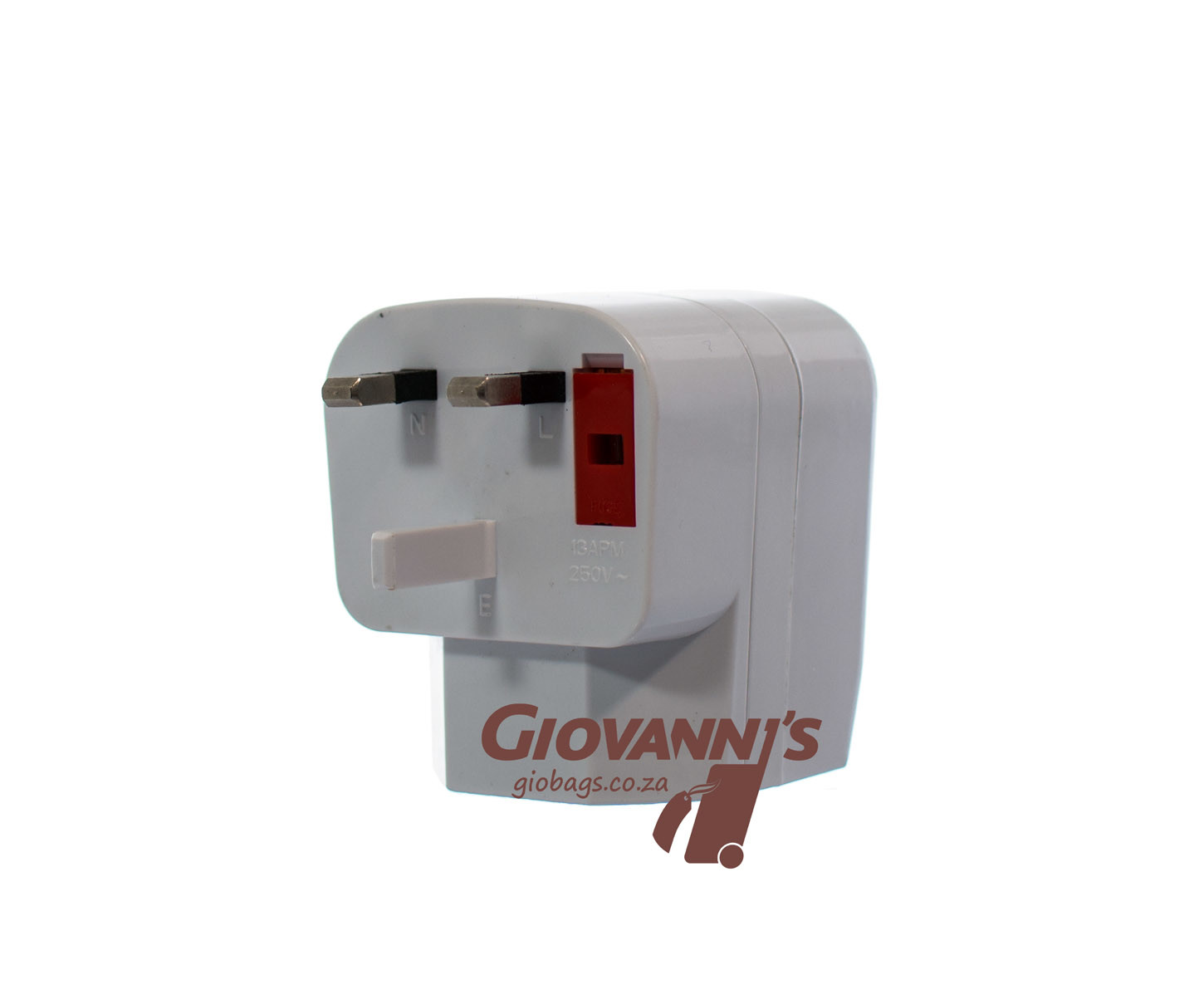 Giobags T-040 South Africa to International Travel Adapter