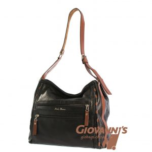 D-250 Bella Bianca Large Leather Shoulder Bag