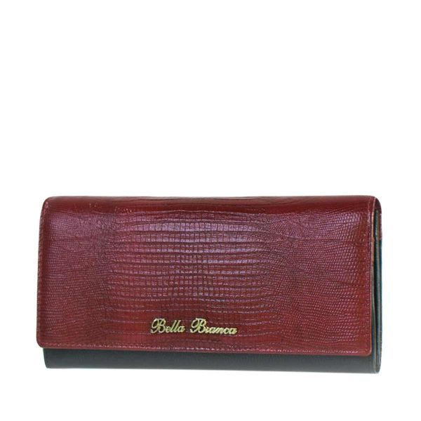Giobags D-506 Bella Bianca 2 Tone Leather Purse