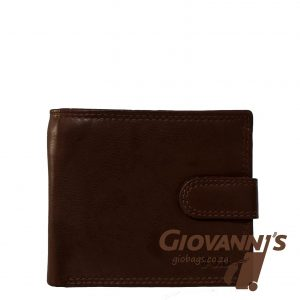 Johnny Black Mens Bavaria Leather Wallet W-75F