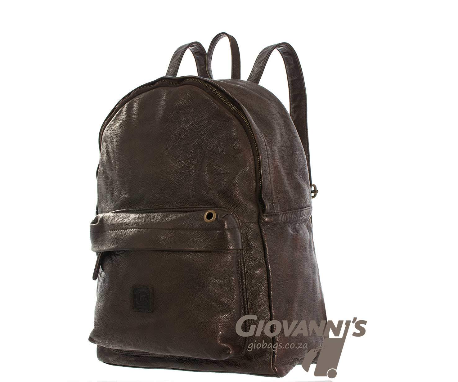 Brando Leather Daytona Back Pack
