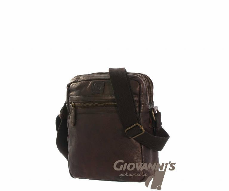 Brando Leather Daytona Sling Bag