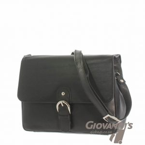 Monroe Flap Over Leather Handbag