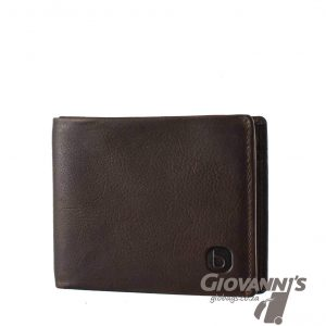 Brando Leather East Wood Billfold Wallet