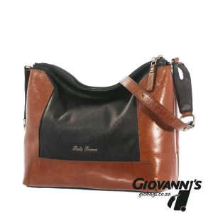 Bella Bianca Leather Shoulder Bag | D420