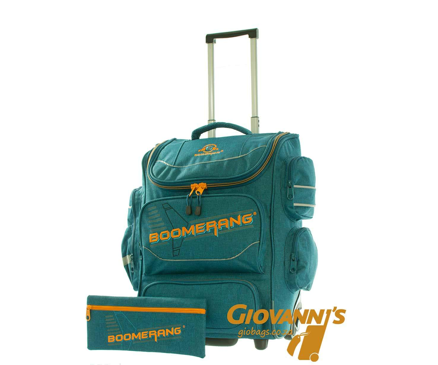 Giobags S-528 XL Boomerang School Trolley Bag On Wheels