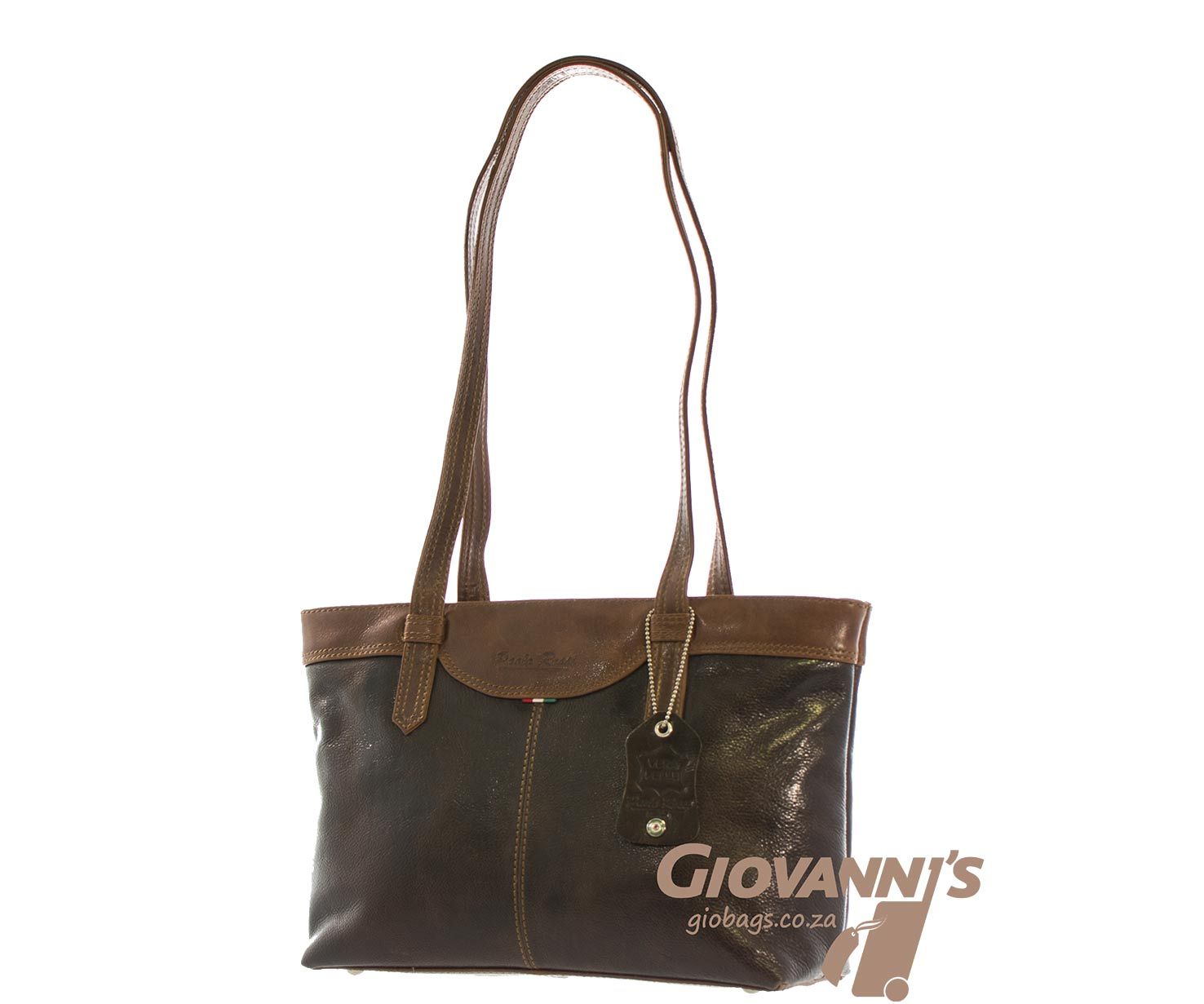 Paolo Rossi Leather Shoulder Bag | 501