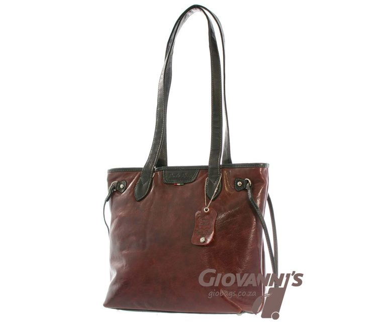 Paolo Rossi Leather Shopper | 500