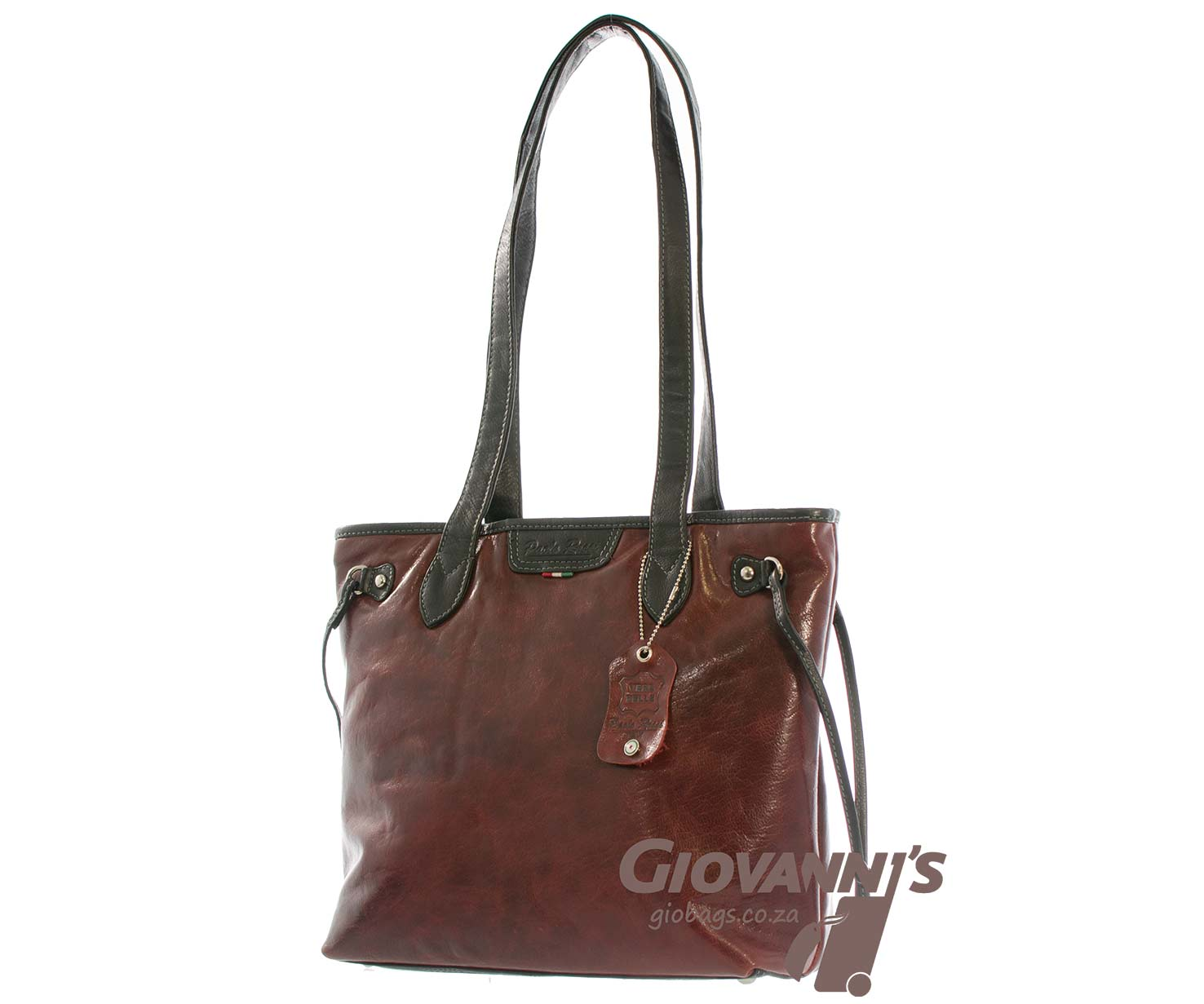 Paolo Rossi Leather Shopper   500