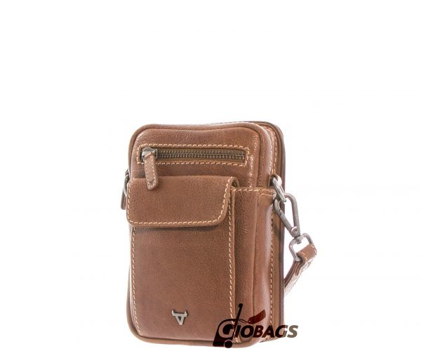 Giobags Brando Vintage Leather Crossbody Bag