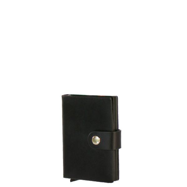 Giobags Gio Leather Aluminium Pop up Card Holder