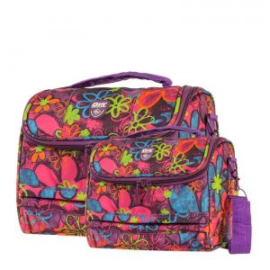 Travelmate Floral 2 Piece Vanity Case