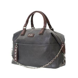 Cotton Road Large Bowling Style Handbag