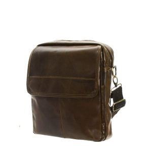 Unisex Leather Crossbody Bag