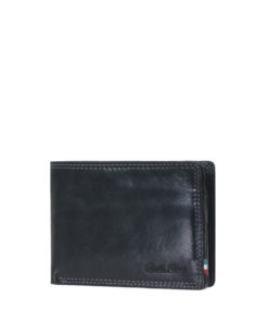 Paolo Rossi Leather Billfold Wallet   N-013A