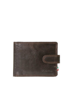 Paolo Rossi Brown Leather Wallet | VTN-013N