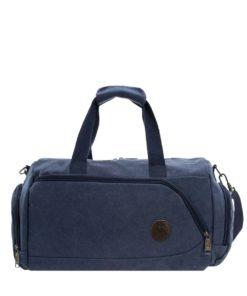 Urban Active Blue Canvas Duffle Bag | C-1014