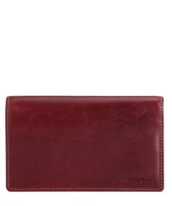 Jekyll & Hide Oxford Leather Purse | 5871 Rust
