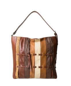 Bella Bianca Leather Tote Bag