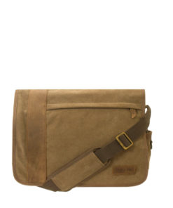 Troop London Canvas Messenger Bag | TRP-0305