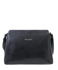 Bella Bianca Leather Shoulder Bag